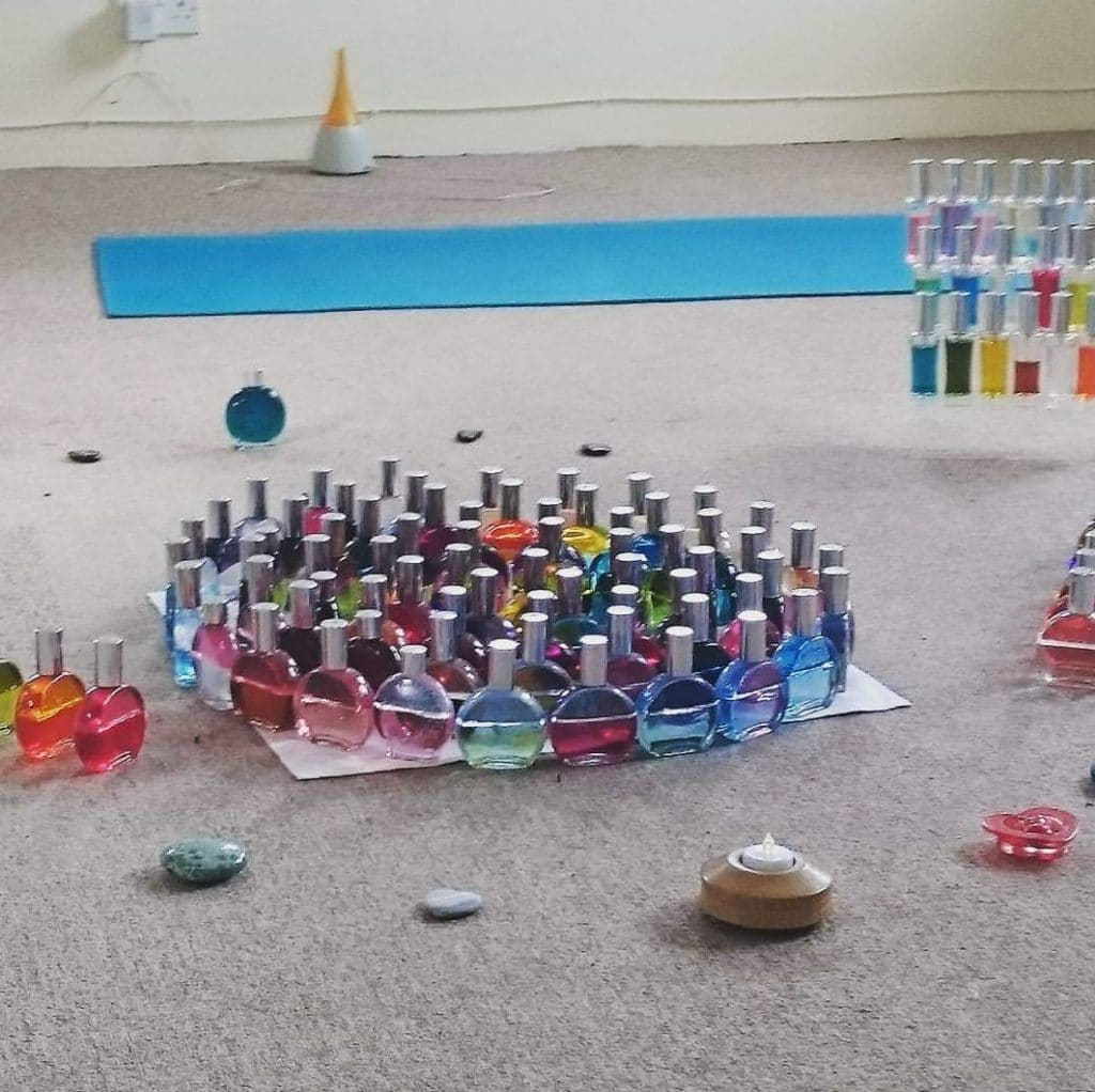 Lorraine Warwick Picture Of Colour Bottles